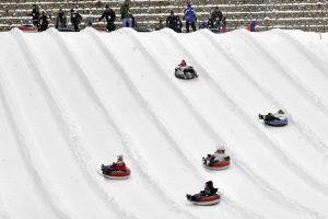 Ober Gatlinburg snow slide