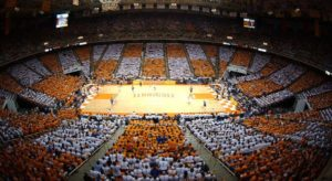 Tennessee Men Vols Basketball game