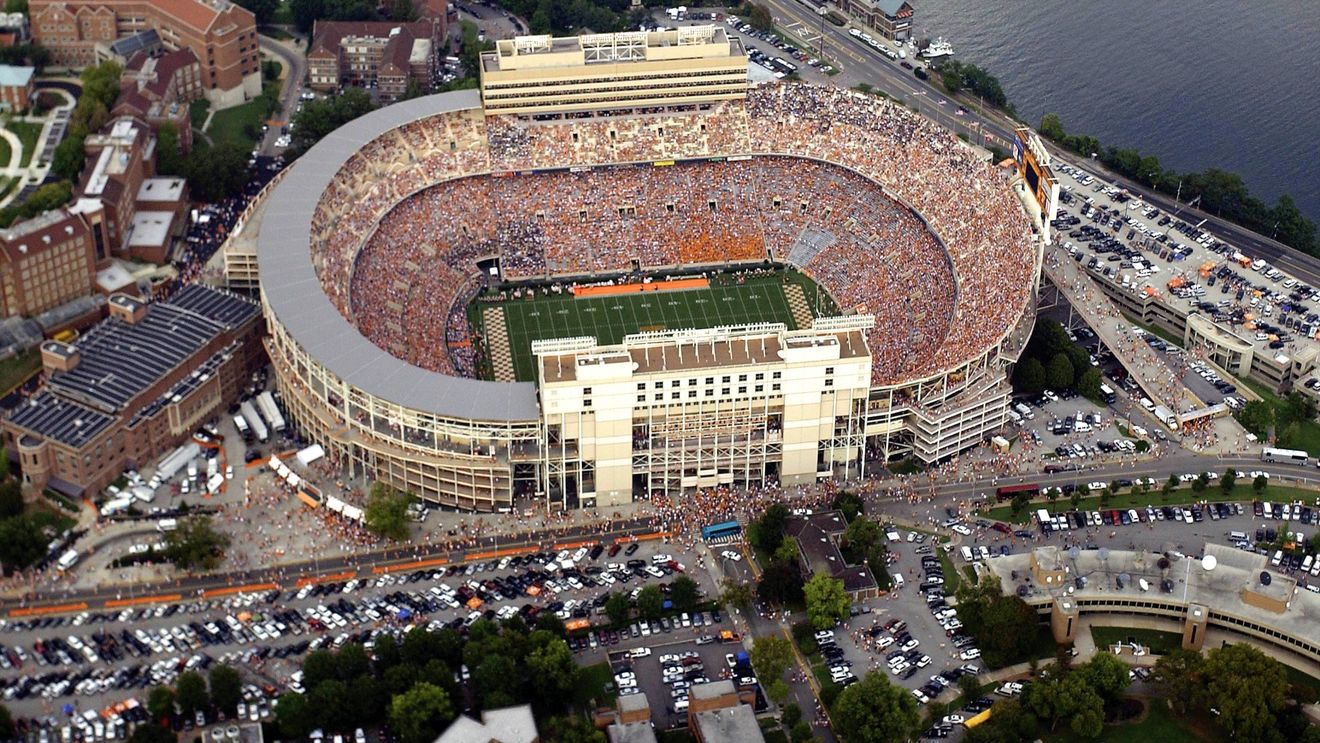 Knoxville Tennessee Neyland Stadium