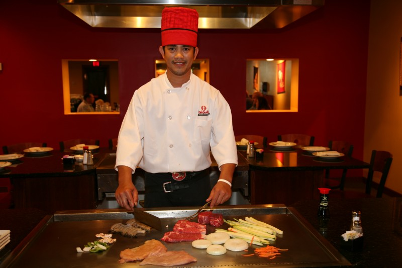 TownMagic - Chef at Wasabi Japanese Steakhouse Knoxville 3