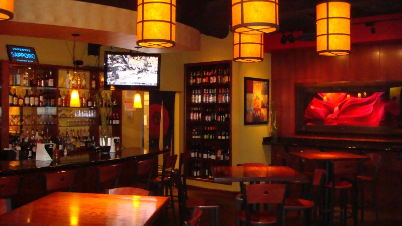 TownMagic - Wasabi Japanese Steakhouse interior